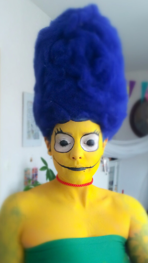Marge's Makeup Tutorial by recyclebin - A Member of the Internet's Largest Humor Community.